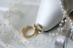 Hochzeitsringe mit Brautschuh