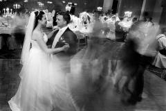 Hochzeitstanz schwarz weiss