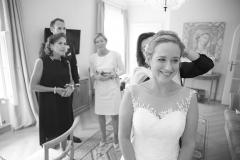 Hairstyling Brautzimmer