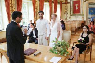 Hochzeitsbilder aus dem Standesamt